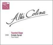 2008 Alta Colina Toasted Slope Syrah