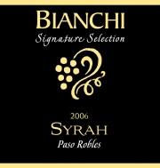 2006 Bianchi Syrah