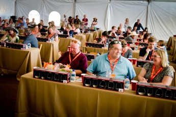 Riedel Glass Seminar Audience