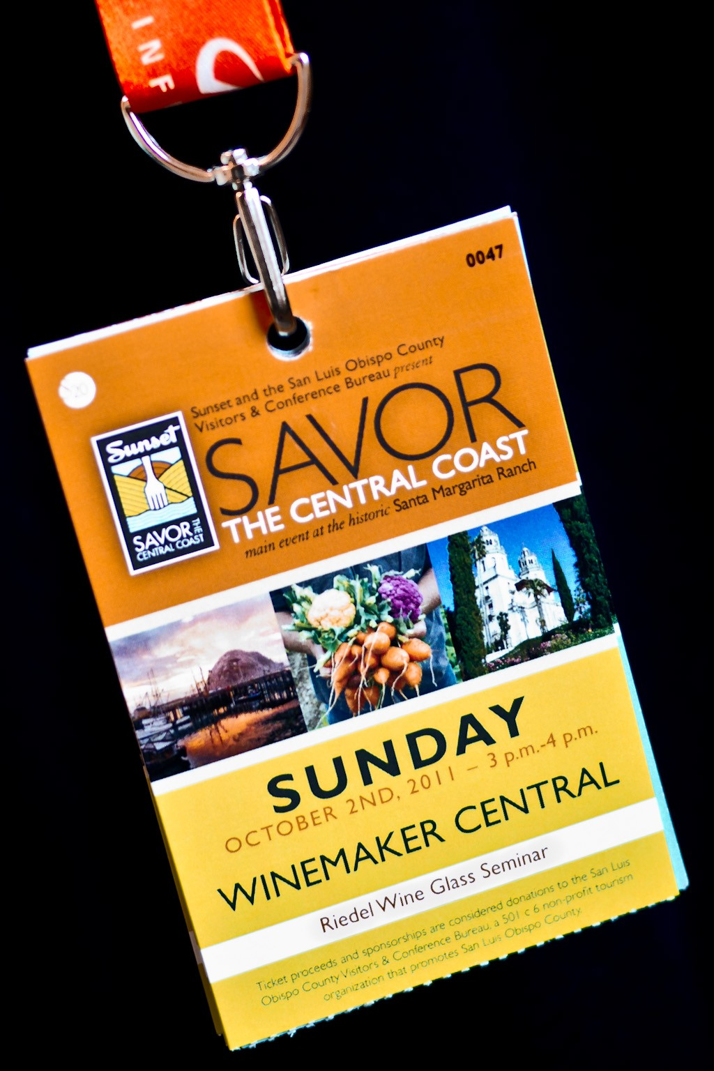 Savor The Central Coast Ticket