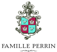 Famille Perrin Logo with Crest